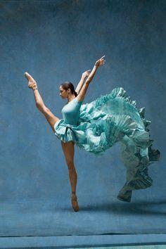 Harper's Bazaar - Misty Copeland Recreates Degas's Ballerinas The...