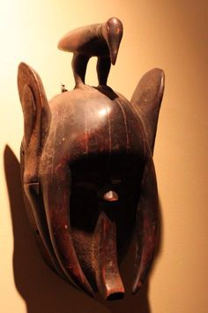 Unusual Yaure elephant mask
