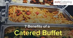7 Benefits of a Catered Buffet - Read here: http://eatzcatering.com/blog/7-benefits-of-a-buffet/. For a halal certified food caterer in Singapore go here:http://eatzcatering.com #eatzcatering #Buffet #buffetcatering #catering #singaporecatering #singaporefood