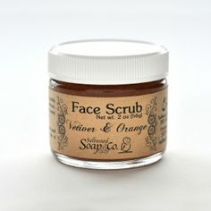 I haven't tried this yet, but I want to ... I may even make my own version sometime this week. Vetiver & Orange Face Scrub