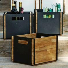 Box Storage Box by Cane-Line Keep spaces tidy and organized with the Box Storage Box. The modern space saver gets straight to the point with a crate-like design made of teak and aluminum. Deck Furniture, Furniture Ideas, Best Trade, Box Storage, Space Saver, Modern Spaces, Teak, Crates, Organization