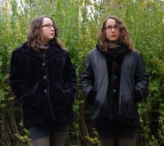 Vintage Black Faux Fur Jacket. Reversible. 1990's. by blissjoybull, $28.00. Eco friendly.
