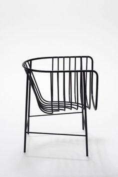 Minimalist chair.