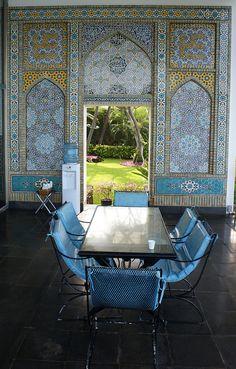 Doris Duke's Shangri La.