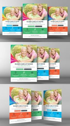Senior Care Flyer Template. Flyer Templates. $6.00