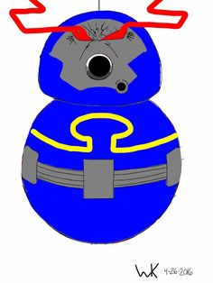 BB8 droid darkseid(dc comics, new gods)