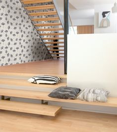 Bioba gray wallpaper Marimekko Finland