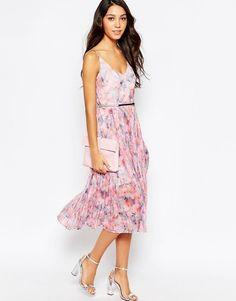 Image 4 ofOasis Printed Midi Dress