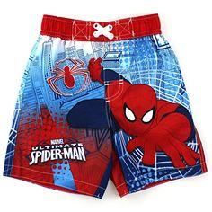 Spider-Man Boys Swimwear (2T, Red Ultimate Trunks) Marvel http://www.amazon.com/dp/B00TFXM7QS/ref=cm_sw_r_pi_dp_KCL4ub1ZBG9XK