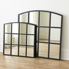 Who sells mirror decor? Find stylish mirror decor, wall art mirrors, and more at Ballard Designs today! Mirror Above Fireplace, Mantle Mirror, Fireplace Ideas, Mirror Mirror, Entryway Furniture, Furniture Decor, Office Furniture, Atlanta Homes, Ballard Designs