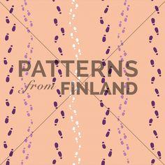 Wondering by Tiina Taivainen  #patternsfromfinland #tiinataivainen #patterns #finnishdesign