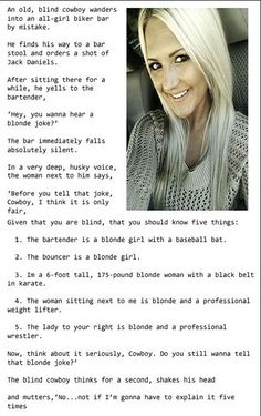 The Blonde Story