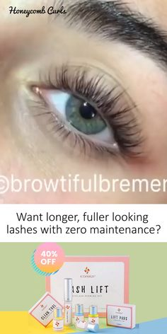 Wouldnt it be great to have long perfectly curled lashes everyday without needing to do anything to them? Our DIY Lash Lift Kit curls your natural lashes so they look longer & thicker with no mascara no lash extensions & no falsies! Thick Lashes, Natural Lashes, Long Lashes, False Lashes, Natural Eyelash Growth, Curl Lashes, Best Lashes, Mascara Tips, Lift Kits