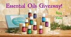 Essential Oils GIVEAWAY! I am happy to offer one lucky winner an Essential Oils Kit valued at $124! It includes the 10 oils you can use everyday including:   Lavender  Lemon  Peppermint  Frankincense  Thieves  Peace ...