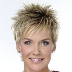Image result for short spiky hair