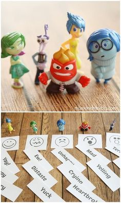 "Little kids will also love this emotions sorting game. | 29 Ways To Throw The Ultimate ""Inside Out"" Birthday Party"