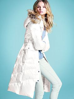 Victoria Secret Puffy coat!!!! new arrival. perfect for the up coming chilly air <3
