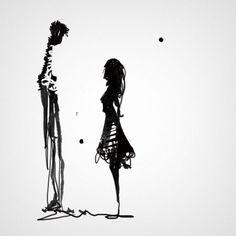 silhouette « Six Foot Giraffe