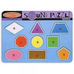 Shapes Sound Wooden Puzzle