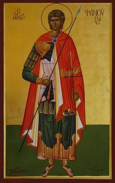 Phanourios by Michael Hadjimichael History Class, Art History, Orthodox Icons, Saints, Prayers, Religion, God, Painting, Festivals