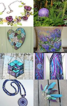 Purple Spring Gifts by The Captain on Etsy--Pinned with TreasuryPin.com