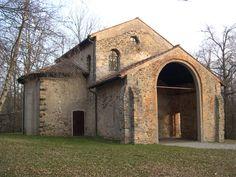 Santa Maria foris portas - patrimonio UNESCO - Longobardi in Italia