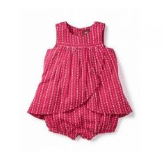 "Karuli Romper Dress by #TeaCollection - Karuli is an Indian girl's name that means ""innocent."" #3littlemonkeys"