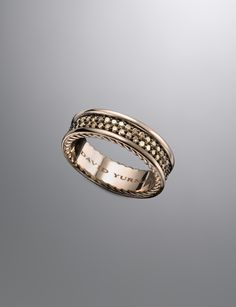 Streamline Ring, Cognac Diamond | Men Rings | David Yurman Official Store