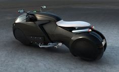 Futuristic Motorcycle from Enzyme Design