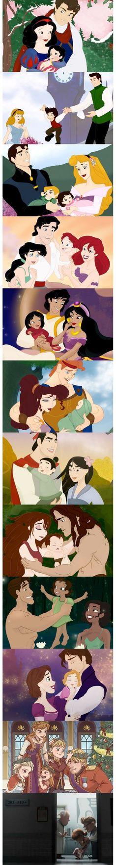 Wenn Disney Paare Kinder bekämen