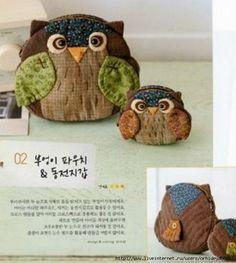 owl-purse - pattern
