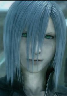 Final Fantasy Xv, Fantasy Series, Ff Brave Exvius, Silver Hair Men, Purple Crafts, Yazoo, What's So Funny, Playing Games, Anime