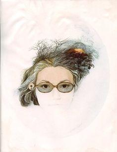 Nancy Ekholm Burkert  - Self Portrait (1967)