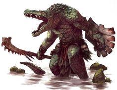 Gatorman by RobinGoodFellow