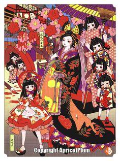Hanafuda Hub!: Queen of Hanafuda by ApricotPlum