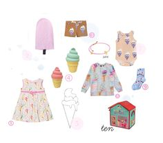 And what better when your outfits matches your preferred summer snack? Here are some fun pieces with ice cream prints for long summer...