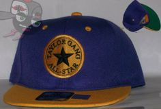 Taylor Gang All Star Two Tone Laker Purple/Gold Wiz Khalifa Snapback Hat Cap by Taylor. $22.00. Save 21%!