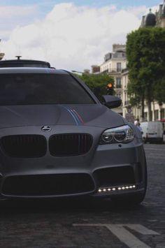BMW F10 M5 grey Hamann
