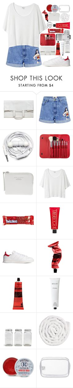 """""""only a matter of time // #195"""" by jar-of-hearts-xx ❤ liked on Polyvore featuring Maison Margiela, Paul & Joe Sister, Urbanears, Morphe, Eos, Acne Studios, Monki, River Island, Benefit and adidas Originals"""