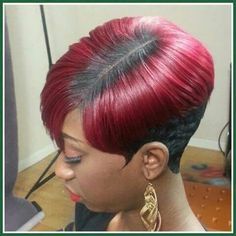 38 Easy Short Hairstyles for American Women!American women are known for their unique beauty and outstanding confidence. American women have a set of their wo Short Quick Weave Hairstyles, 27 Piece Hairstyles, Cute Hairstyles For Short Hair, Girl Hairstyles, Braided Hairstyles, Teenage Hairstyles, Unique Hairstyles, Hairstyle Ideas, Short Sassy Hair