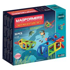 Magformers 32-pc. Adventure Sea Set, Multicolor