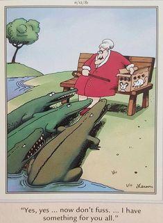 Funny cartoons, funny comics, far side comics, far side cartoons, satire hu Cartoon Jokes, Funny Cartoons, Funny Comics, Funny Humor, Funny Stuff, Hilarious Memes, Funny Shit, Calvin Und Hobbes, Gary Larson Cartoons