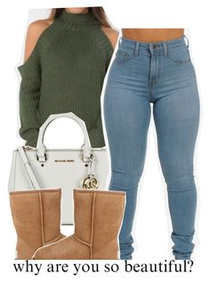 A fashion look from February 2016 featuring UGG Australia ankle booties y MICHAEL Michael Kors tote bags. Browse and shop related looks. New York Fashion, Teen Fashion, Fashion Outfits, Runway Fashion, Fashion Trends, Swag Outfits, Dope Outfits, Casual Outfits, Polyvore Outfits