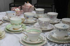 great ideas for the perfect high tea / bridal shower