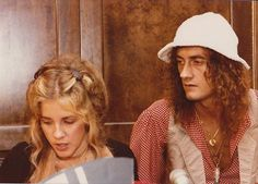 Mick Fleetwood & Stevie Nicks.