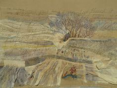 freehand machine embroidery of text and landscape. Freehand Machine Embroidery, Textile Artists, Beautiful Gifts, Abstract Art, Textiles, Landscape, Yorkshire, Wordpress, How To Make