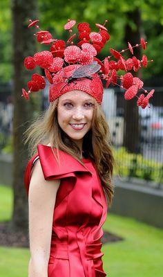 Ascot: Wacky Ladies' Day hat fashion