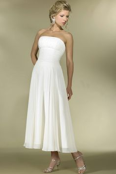 Tea Length Wedding Dress | Tea Length Bridal Gowns | A Wedding Zone