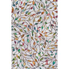 Artscape 24 in. x 36 in. New Leaf Decorative Window Film-02-3021 at The Home Depot -- for bathroom window