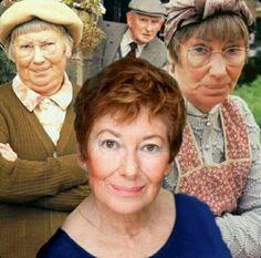 The Beautiful Juliette Kaplan (Pearl on Last of the Summer Wine) British Tv Comedies, British Comedy, British Actresses, British Actors, Actors & Actresses, English Comedy, British Humour, Comedy Clips, Comedy Tv